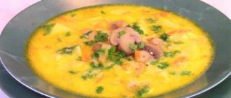 Наваристый сырный суп с грибами. Отличный обед для приверженцев здорового питания 9