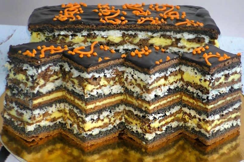 Осенний маковый пирог.Даже избалованный тортиками муж балдеет от этого лакомства 14