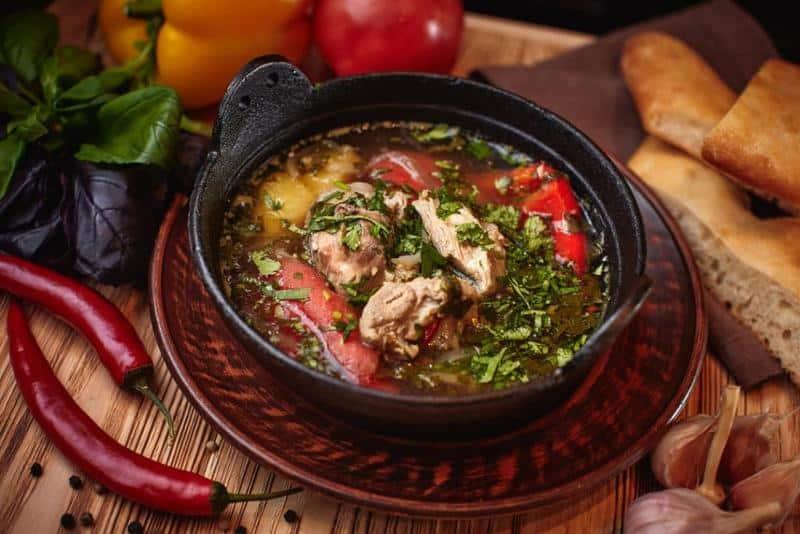 Суп Шетамади по-грузински: сытный, оригинальный и очень вкусный супчик
