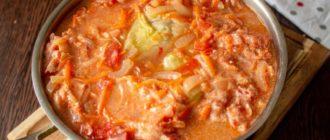 Суп-голубец. Оригинальное и сытное первое блюдо с мясом и капустой 7