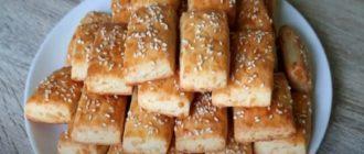 Сырное печенье. Рецепт солёных снеков в домашних условиях 9