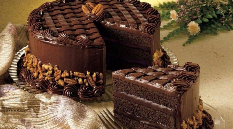 Торт Чёрная магия на кефире с кофе. Шоколадное лакомство для сладкоежек 4