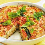 Итальянский омлет с овощами. Сытный и вкусный завтрак для всей семьи 12