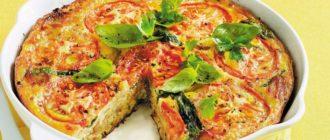 Итальянский омлет с овощами. Сытный и вкусный завтрак для всей семьи 6