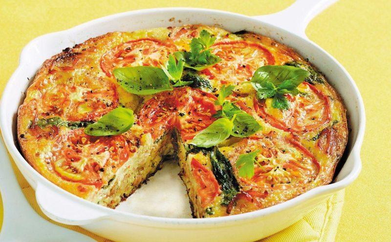 Итальянский омлет с овощами. Сытный и вкусный завтрак для всей семьи 1
