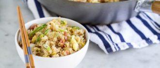 Азиатский жареный рис с беконом. Оригинальное и быстрое блюдо 5