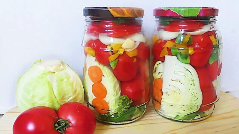 Ассорти из овощей на зиму. Вкуснейшая заготовка, которая проверена годами 10