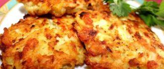 Картофельно-куриные оладьи. Вкуснятина к ужину 10