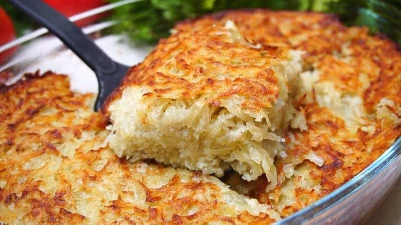 Картофельный кугель. Вкусное и бюджетное блюдо 1