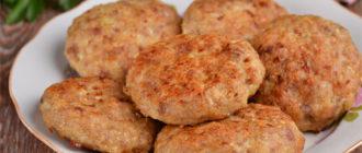 Куриные котлеты в духовке. Вкусные котлетки к картофелю или гречке 1