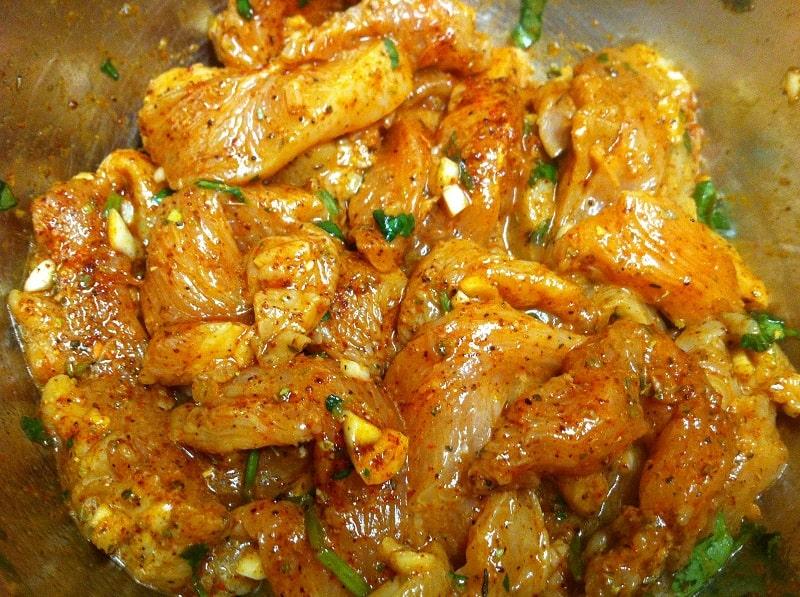 Маринад для курицы с горчицей