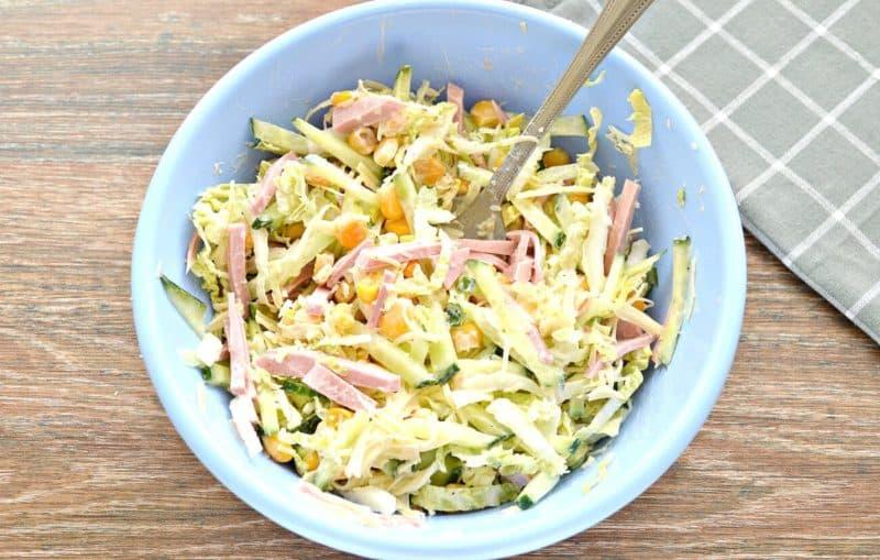 Морковный салат по-корейски с курицей и огурцами. Обалденный салат для всей семьи 1