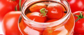 Помидоры с виноградом на зиму. Сочетание разных ингредиентов в банке дарит необычный вкус 6