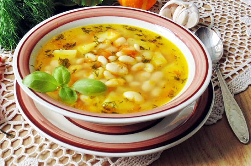 Постный суп с перловкой и фасолью. Легкий и вкусный обед для всей семьи 1
