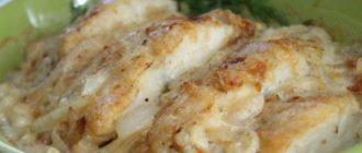 Рыба в сметане в духовке. Сочный обед и ужин 19