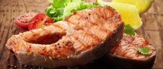 Рыбные стейки. Сочное мясо рыбы понравится вам и вашим гостям 5