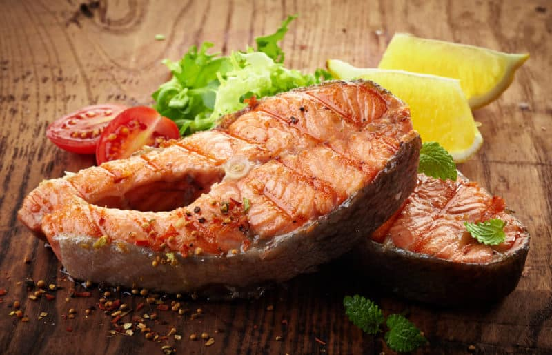 Рыбные стейки. Сочное мясо рыбы понравится вам и вашим гостям 8