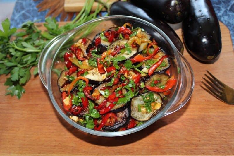 Салат из баклажанов с секретом