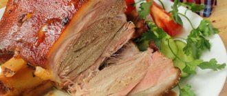 Свиная рулька в духовке. Нежное мясо с хрустящей корочкой 15