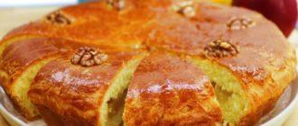 Сдобный пирог с яблоками. Вкусный десерт для семейного чаепития 22