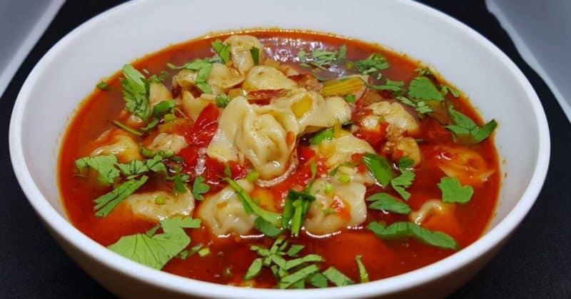 Суп Чучвара. Первое блюдо узбекской кухни