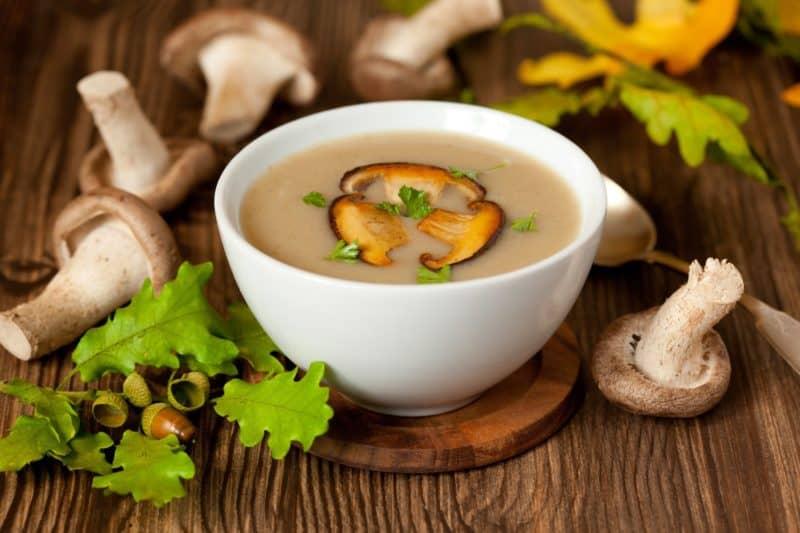 Сырно-грибной суп с курочкой. Ароматное и очень вкусное блюдо 4