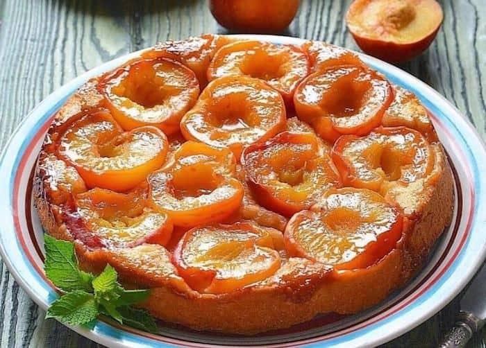 Тарт-татен с персиками Белоснежка. Необычный пирог с насыщенным вкусом персиков 10