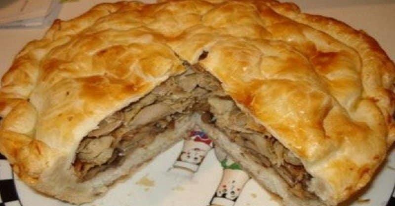 Узбекский курник. Его называют царём пирогов 14