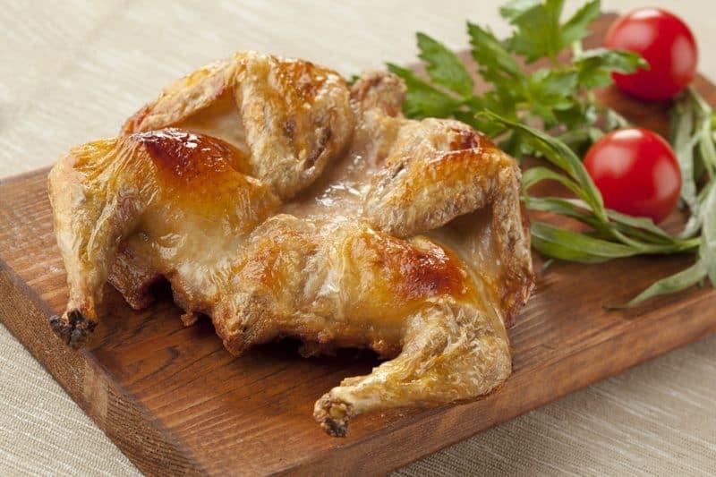 Цыплёнок табака по-грузински. Потрясающее блюдо кавказкой кухни 1