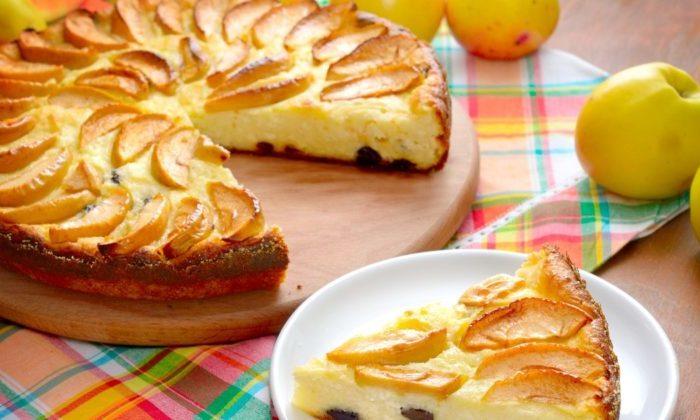 Яблочная запеканка. Невероятно нежный десерт 1