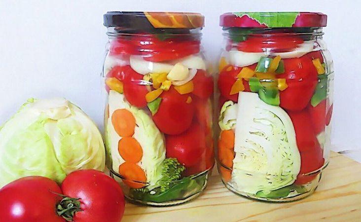 Ассорти из овощей на зиму. Вкуснейшая заготовка, которая проверена годами 1