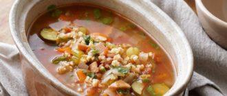 Суп из перловки по польскому рецепту насытит вас на целый день 14