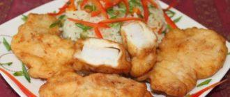 Жареная рыба в луковом кляре. Сочно, ароматно и вкусно 12