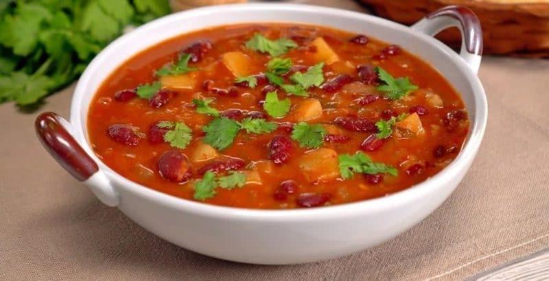Грузинский суп Шешамади. Наваристое первое блюдо для сытного ужина