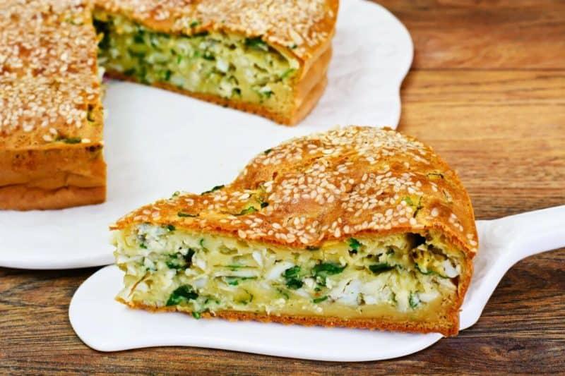 Заливной пирог с капустой невероятно быстро приготовить и вкусно кушать 1