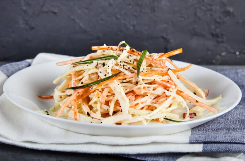 Капустный салат Коул Слоу. Полезный и свежий салатик 1