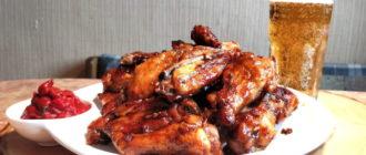 Куриные крылышки запечённые в пиве. Абсолютный хит сезона на вашем столе 4