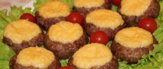 Мясные гнёзда со сливочной серединкой заменят полноценное блюдо к ужину 3
