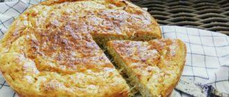 Пирог Шарлотка с капустой. Рецепт лёгкого в приготовлении пирога с овощной начинкой 7