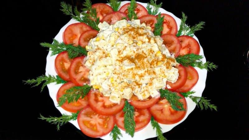 Салат Африканская роза. Изысканный салат для повседневного стола