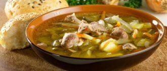 Суп с лапшой и куриными потрошками: блюдо, которое насытит и согреет 10