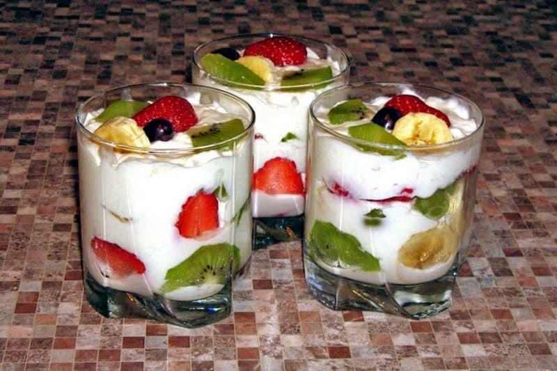 Творожно-фруктовый десерт. Лакомство, которое вы будете делать каждый день