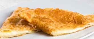 Чебуреки с сыром. Хрустящее тесто и сочная начинка 5