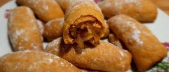 Яблочные трубочки размером с печенье, на один укус 11