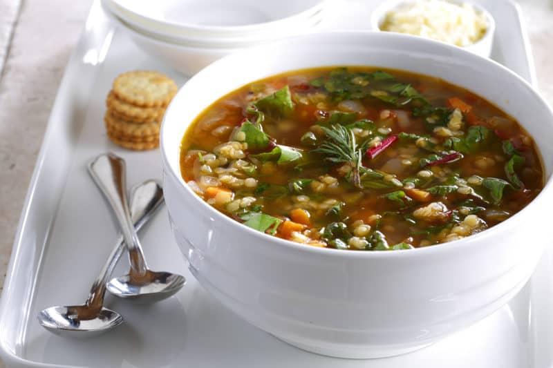 Вкусный чечевичный суп для разгрузочного меню 1