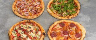 Школьная пицца с курицей и грибами. Дети будут просить положить её в портфель 11