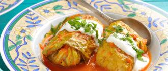 Голубцы с картошкой. Блюдо получается сытным и вкусным 6